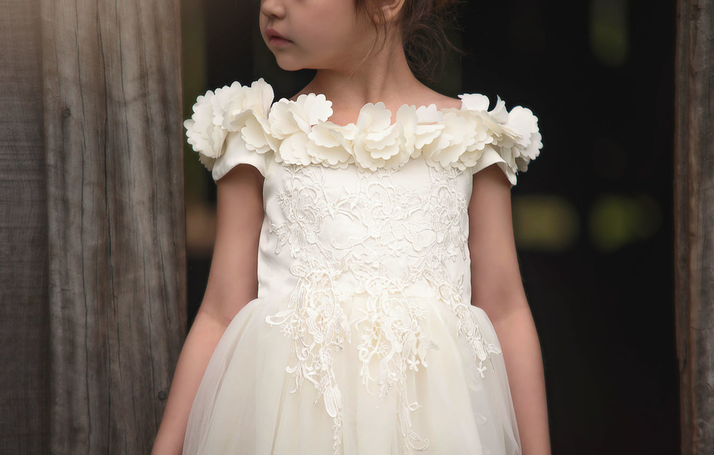 """BELLE GOWN IVORY"""