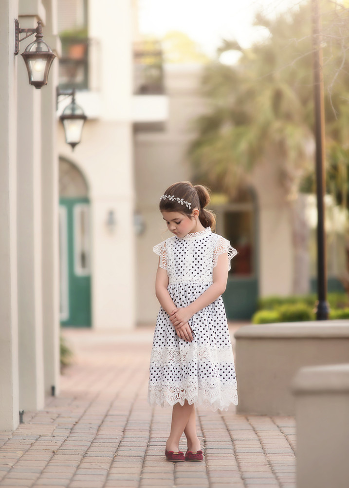 """CASSIDY DRESS POLKA DOT"""