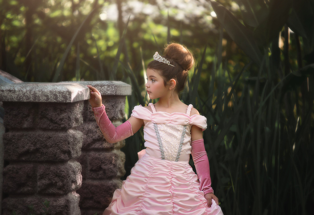 """PRINCESS ANNELIESE DRESS & GLOVE SET"""