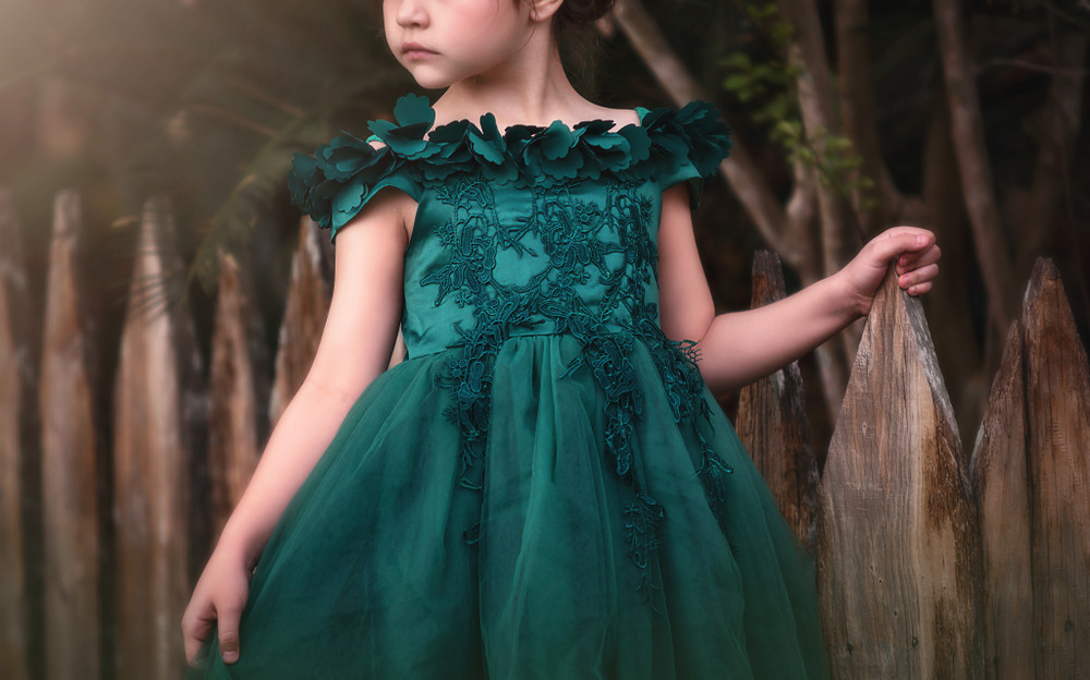 BELLE GOWN EMERALD