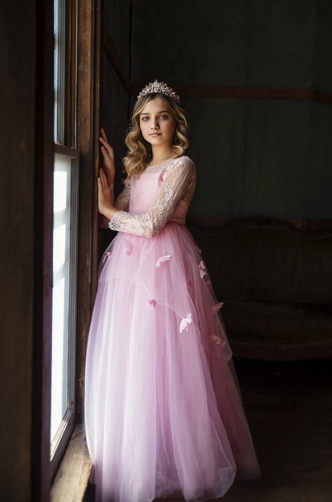 MARIPOSA GOWN PINK