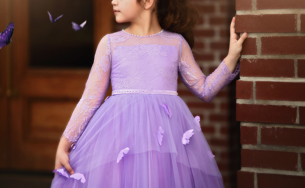 MARIPOSA GOWN LAVENDER