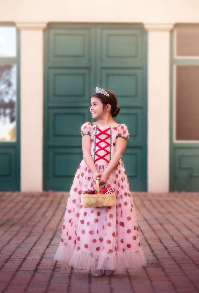 STRAWBERRY GOWN