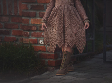ABIGAIL DRESS CHOCOLATE