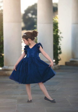 BIANCA DRESS NAVY