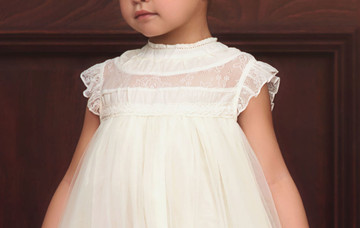 ALLESSANDRA DRESS IVORY