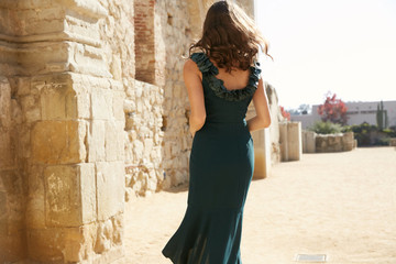 ANASTACIA DRESS- EMERALD