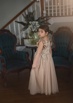 BIANCA GOWN GOLD