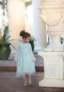 ABIGAIL DRESS POWDER BLUE