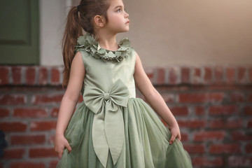 AERALINA DRESS CELADON