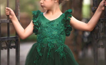 """""BIANCA GOWN EMERALD"""""