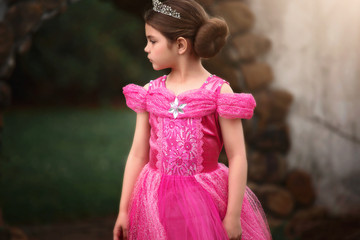 PINK PRINCESS DRESS COSTUME