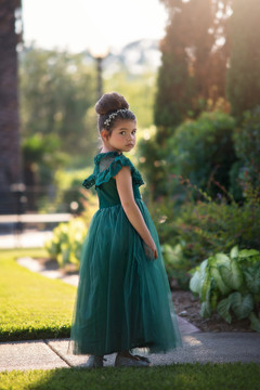 GIOVANNA GOWN EMERALD