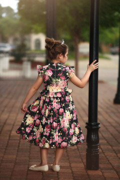 LUCIA DRESS BOUNTIFUL FLORAL