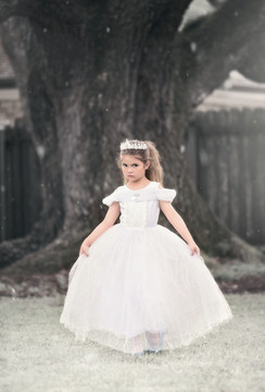 PRINCESS MARGARET DRESS