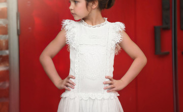 AERIN DRESS WHITE