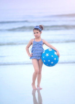 """GEORGINA SWIMSUIT & HEADBAND SET"""