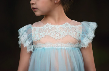 ADRIANA DRESS SKY BLUE