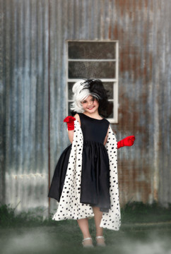 """DALMATIAN QUEEN 4 PC. SET"""