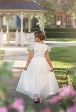 GWENDOLYN GOWN WHITE