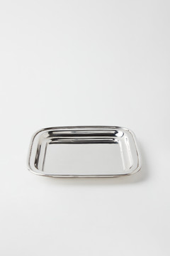 SILVER PLATED HIGH GROVE TRAY