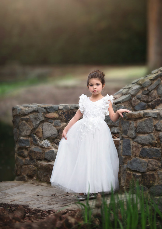 BIANCA GOWN WHITE