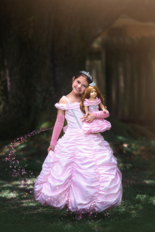 PRINCESS ANNELIESE DOLL GOWN