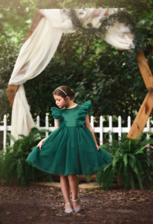 MILLY DRESS EMERALD