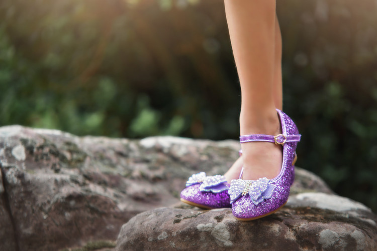 MAGICAL BUTTERFLY SHOES PURPLE