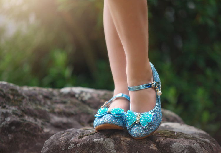 MAGICAL BUTTERFLY SHOE BLUE