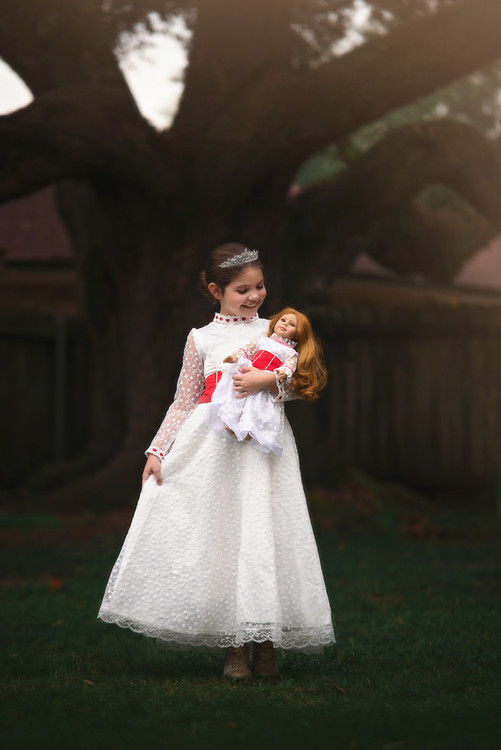 JOLLY HOLIDAY DOLL GOWN