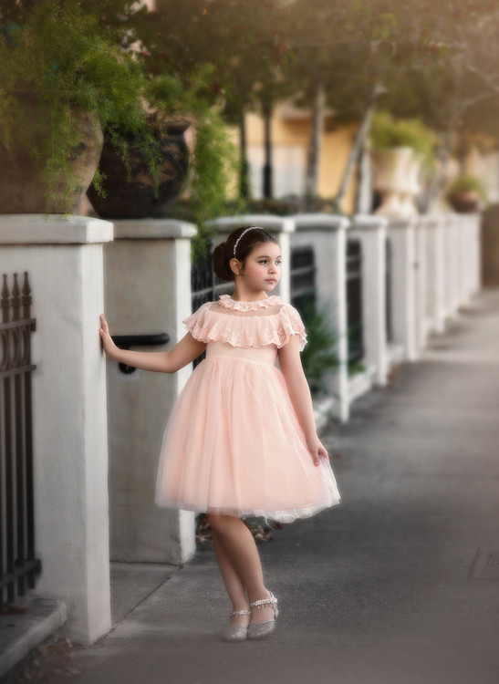 GIOVANNA DRESS BLUSH PINK