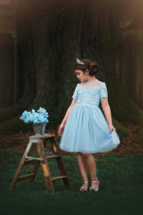 HARMONY DRESS SKY BLUE