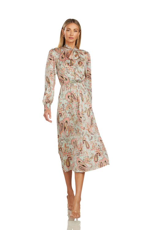 CLAUDIA PAISELY DRESS
