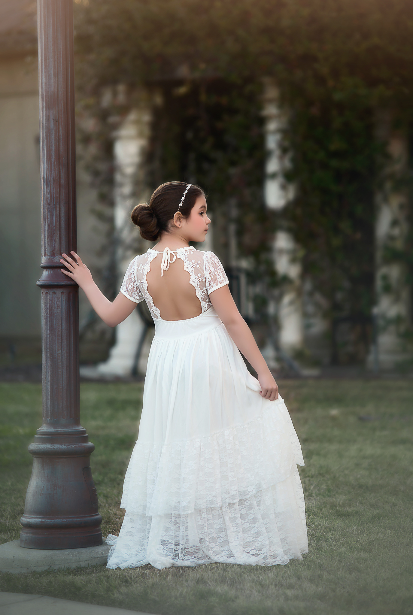 MEGHAN GOWN WHITE