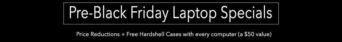 Pre-Black Fiday Laptop Deals