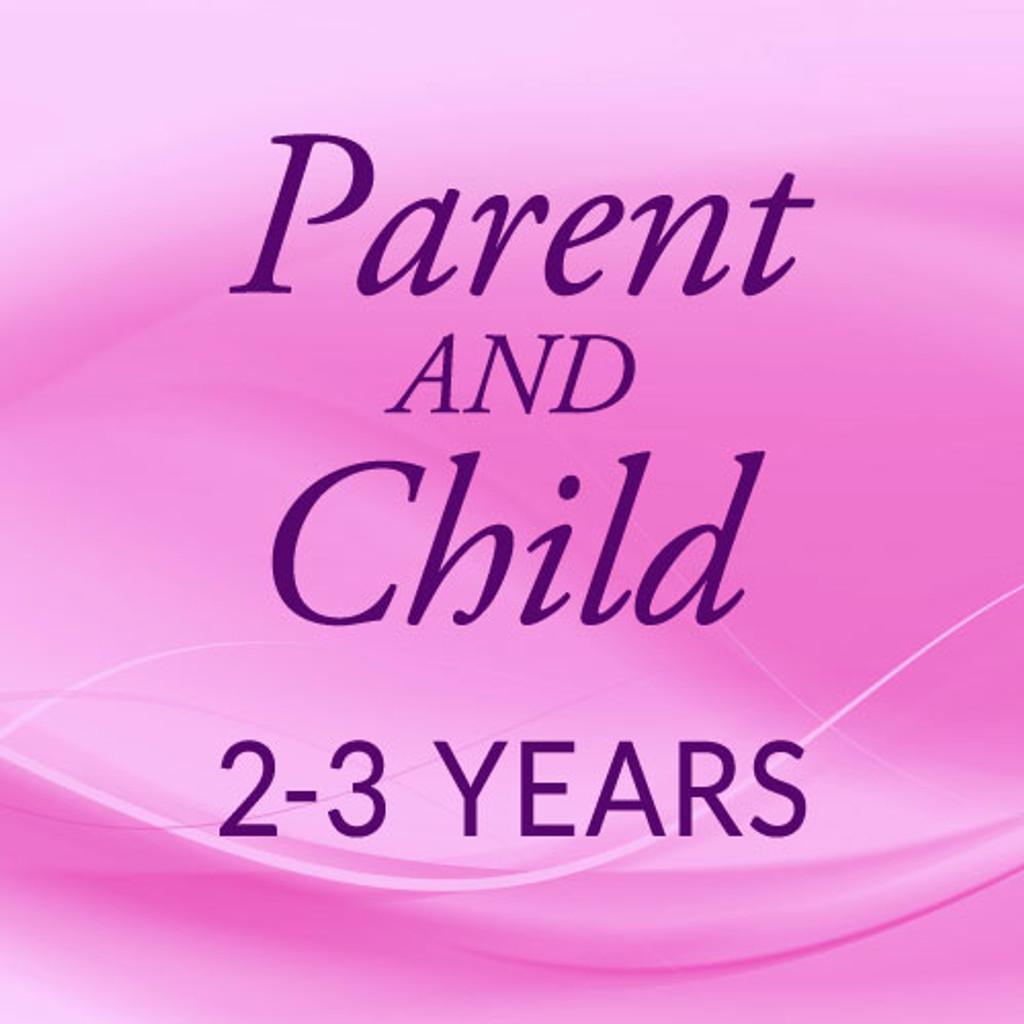 Thurs. 9:15-10:00, Parent & 2-1/2 yrs. - Second Session (Jan.21st - June 1st)
