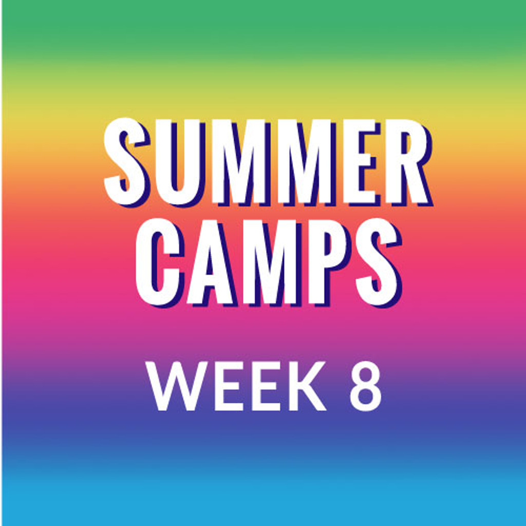 Summer Camp Week 8, Dances & Folktales from Around the World, 8/19-8/23