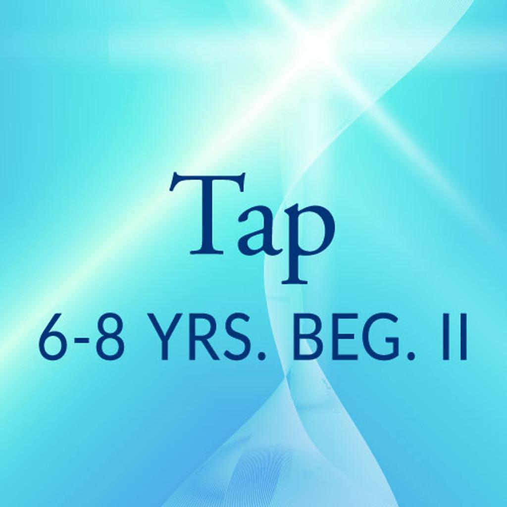 Wed. 3:45-4:30, 6-8 yrs., Beg. Tap ll - Fall/Spring