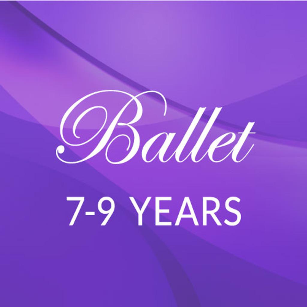 Thurs. 4:30-5:30, 7-9 yrs. Ballet - Fall/Spring