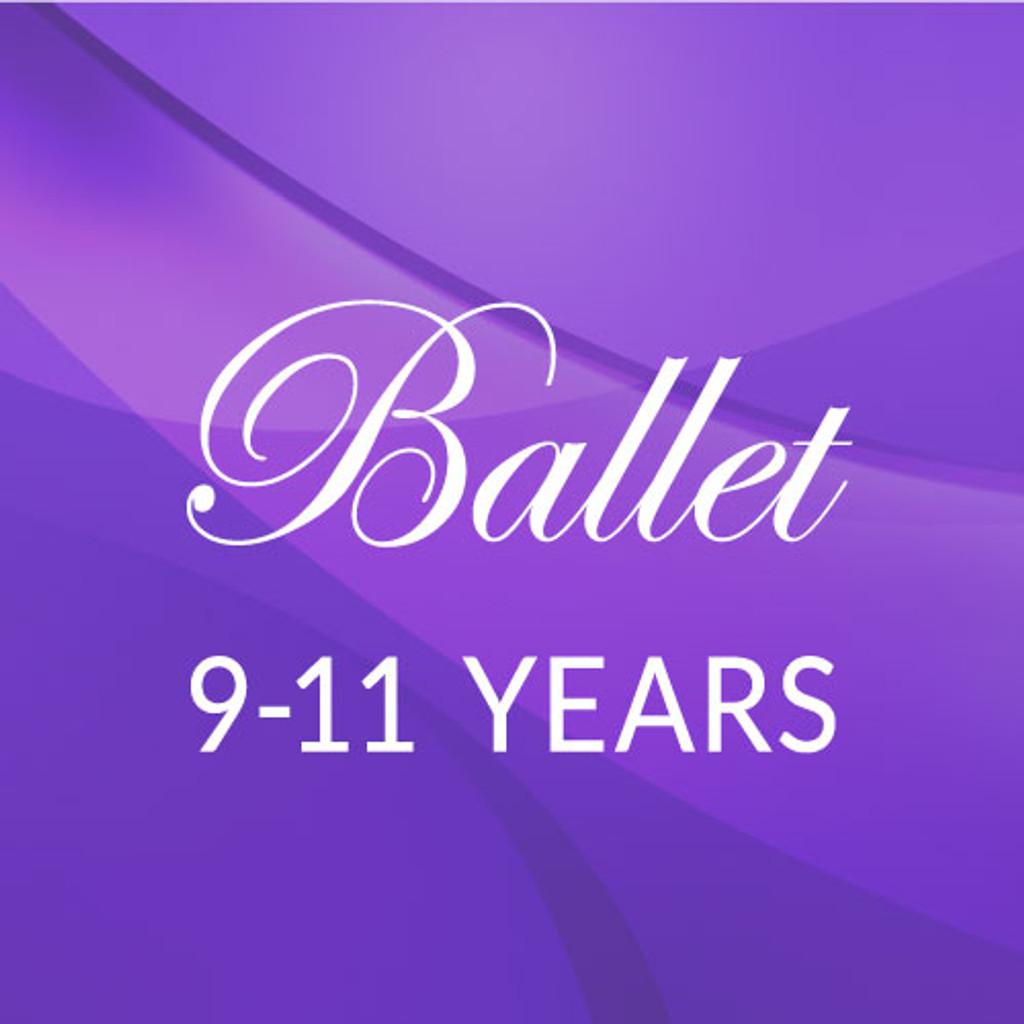 Fri. 3:45-4:45, 9-11 yrs. Ballet - Academic Year