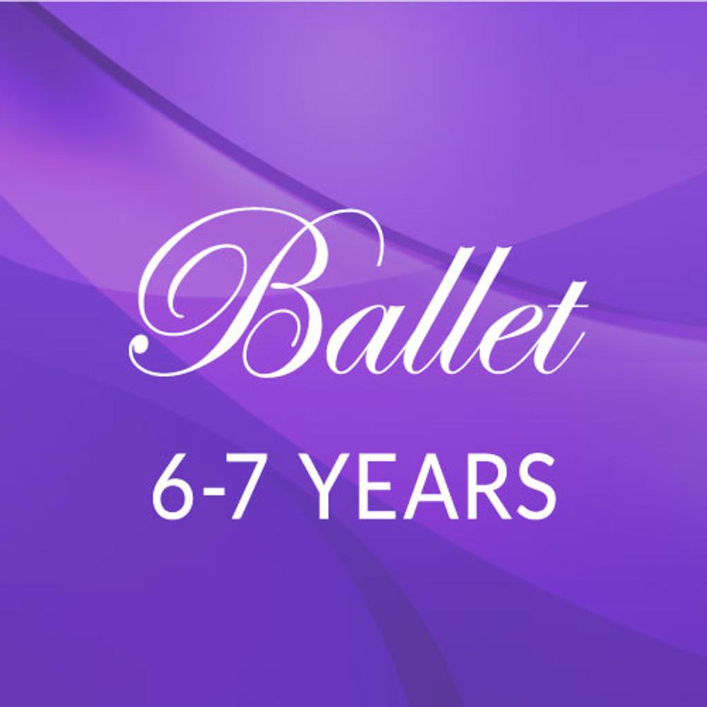 Sat. 10:30-11:15, 6-7 yrs. Ballet - Fall/Spring