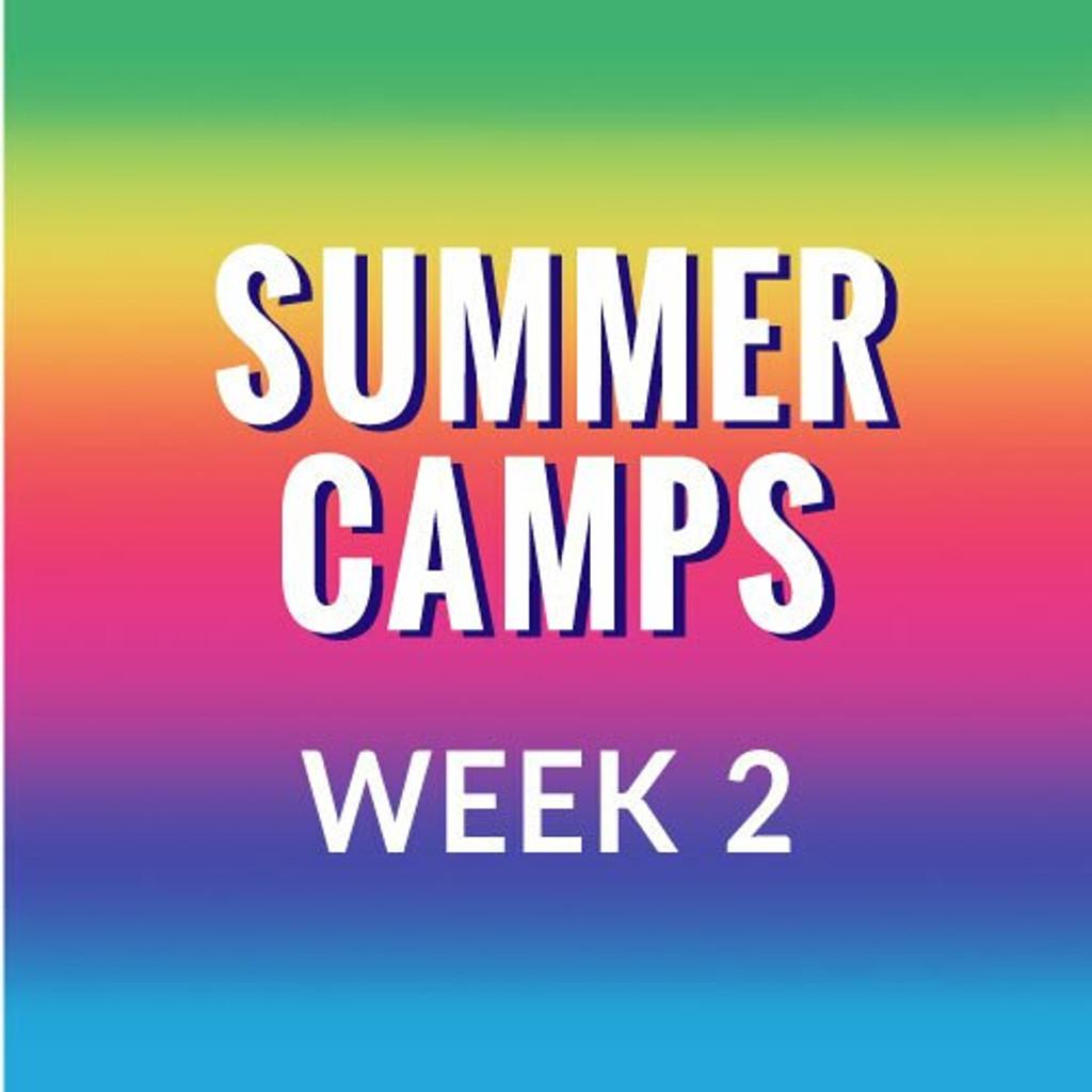 Summer Camp, Week 2  - Mermaids Under the Sea, June 21-25