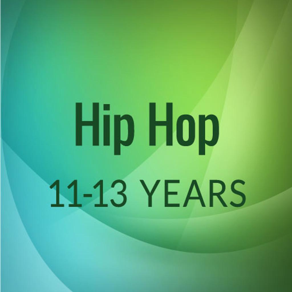 Mon. 5:45-6:45 Hip Hop, 11-13 yrs. - Academic Year 2021-'22