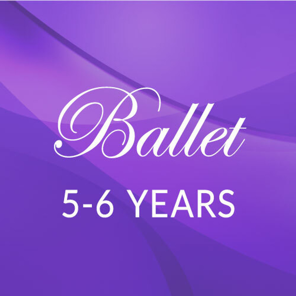 Thurs. 3:45-4:30, 5-6 yrs. Ballet - Academic Year 2021-'22