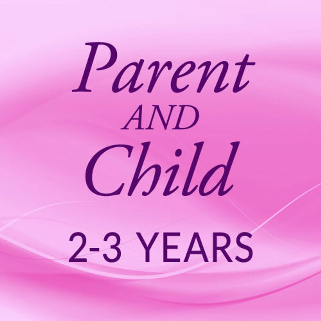 Fri. 10:00 -10:45, Parent & 2 Yr., First Session 2021