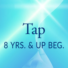 Wed. 5:30-6:15, 8 yrs. & up, Beg. Tap - Fall/Spring