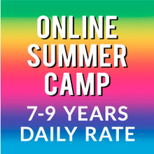 Online Summer Camp: 7-9 Yrs. Daily Rate