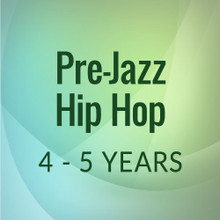 Wed. 2:15-2:45, Pre-Jazz/Hip Hop, 4-5 yrs. - First Session (Sept. 8, '20 - Jan. 23, '21)