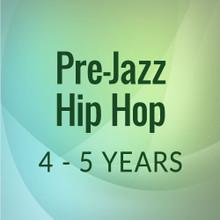 Wed. 2:15-2:45, Pre-Jazz/Hip Hop, 4-5 yrs. - First Session (Sept. 8, '20 - Jan. 23, '21)